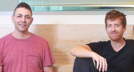 ערן זינמן ורועי מן, מייסדי מאנדיי, צילום: שלומי יוסף