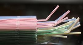 קשיות שתייה פלסטיק איסור שימוש אנגליה, צילום: רויטרס