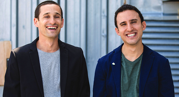 Hunters.AI co-founders Tomer Kazaz (left) and Uri May. Photo: Nicky Trok