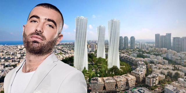 """ת""""א, יא חביבי: עומר אדם קנה דירה בכיכר המדינה ב-15 מיליון שקל"""