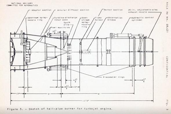 עיצוב המבער הראשון של ארצות הברית, צילום: NASA