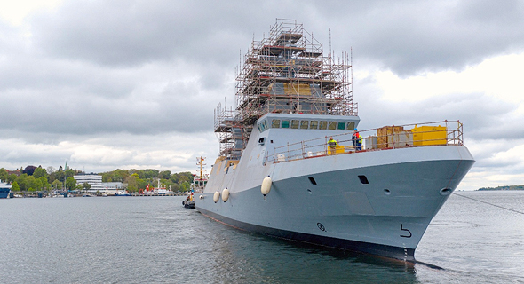 The INS Magen. Photo: Thyssenkrupp Marine Systems
