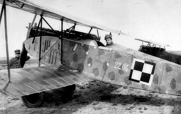 מטוס אלבטרוס גרמני שסופח בידי חיל האוויר הפולני לאחר מלחמת העולם הראשונה