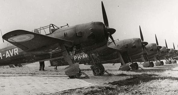 מטוסי וקולהובן FK58 של חיל האוויר הצרפתי