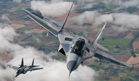 מטוסי מיג 29 של חיל האוויר הפולני בימינו