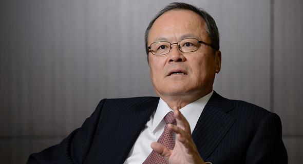 Mitsubishi president and CEO Takehiko Kakiuchi. Photo: Bloomberg