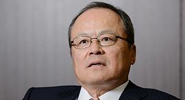 """טייקהיקו קאקיאוצ'י נשיא ומנכ""""ל תאגיד מצובישי, צילום: בלומברג"""