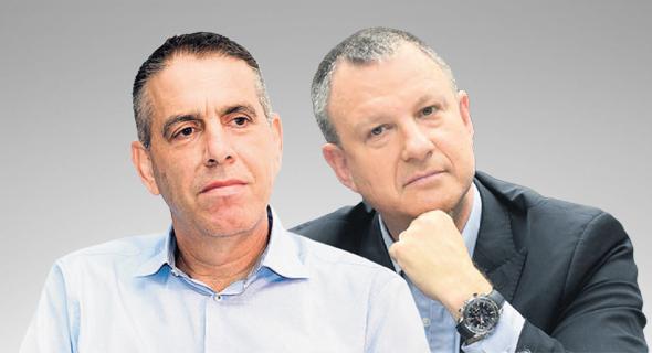 מימין אראל מרגלית ו אייל מליס, צילום: אלעד גוטמן, אוראל כהן