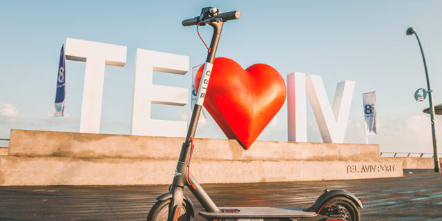 License Plates to Help Tel Aviv Track Down E-Scooter Delinquents
