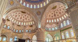 פוטו התקרות היפות בעולם מסגד קוקטפה אנקרה טורקיה, צילום: שאטרסטוק