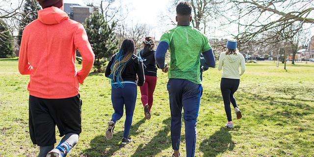 אימון מתקדם: מישהו לרוץ איתו