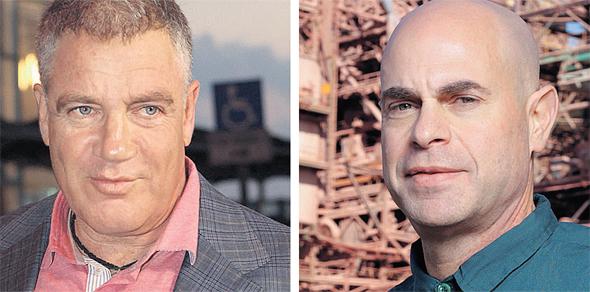 """מימין: מנכ""""ל כיל רביב צולר ובעל השליטה עידן עופר. מתמקדים בעסקי הליבה"""