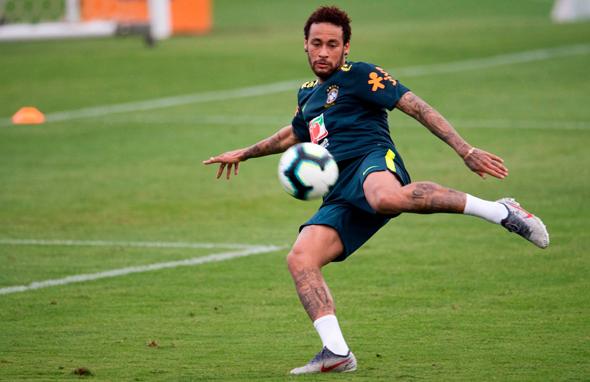ניימאר אימון נבחרת ברזיל