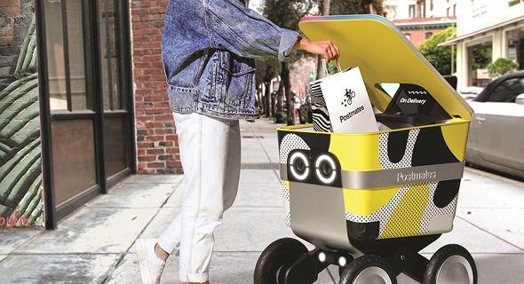 רובוט המשלוחים של Postmates