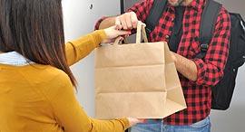 משלוחי מזון, צילום: שאטרסטוק