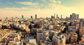 תל אביב מלמעלה בניינים זירת הנדלן, צילום: שאטרסטוק