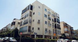 """בניין במתחם בזל צפון הישן של ת""""א, צילום: אוראל כהן"""