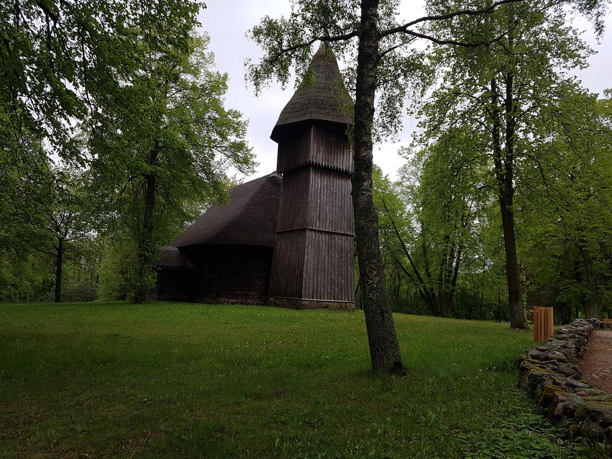 הכנסיה במוזיאון הפתוח ב-Olsztynek, צילום: דוד הכהן