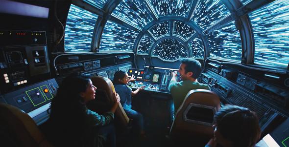 אטרקציית מלחמת הכוכבים בדיסנילנד, צילום: disney