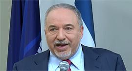 """יו""""ר ישראל ביתנו אביגדור ליברמן, צילום: צילום מסך"""