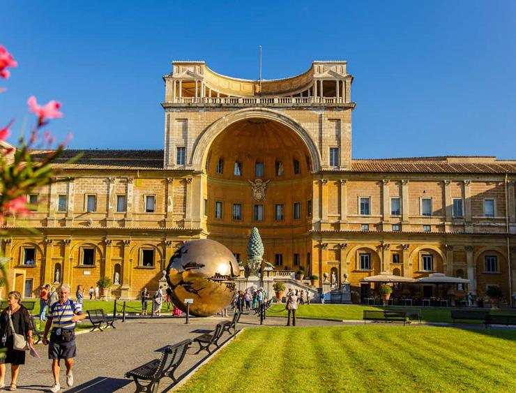 מקום 4. מוזיאון הוותיקן, רומא