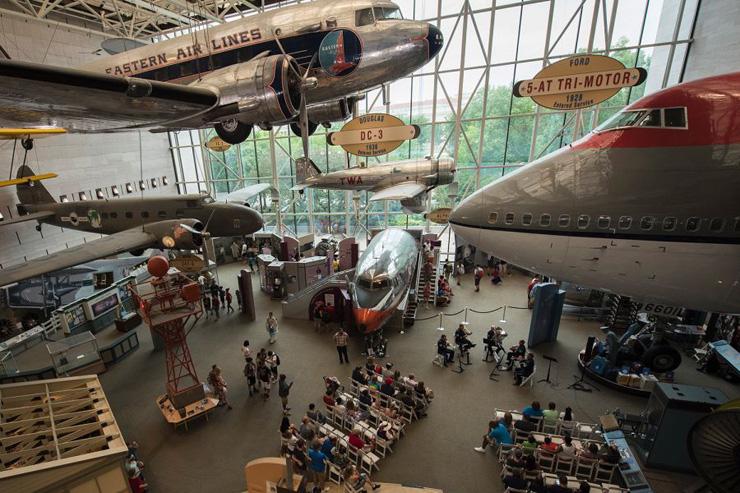 מקום 5. מוזיאון התעופה והחלל בוושינגטון
