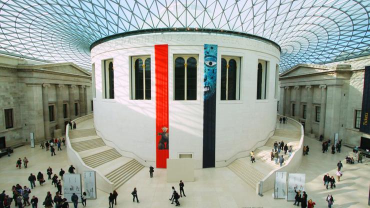 מקום 6. המוזיאון הבריטי בלונדון