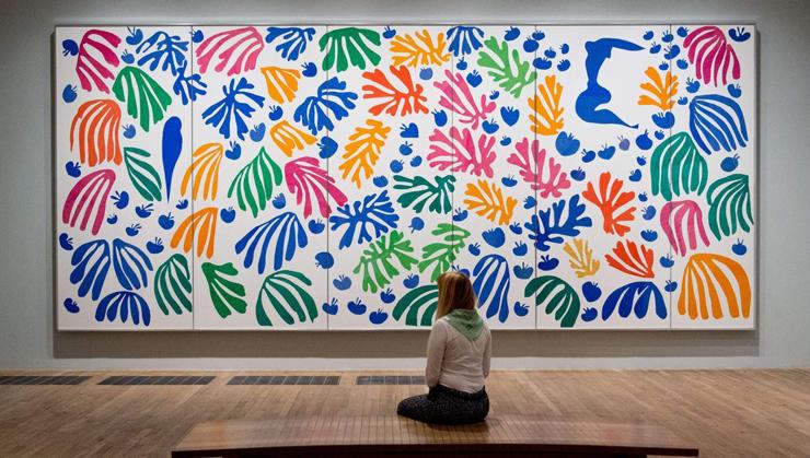 מקום 7. ציור של מאטיס בטייט גלרי, לונדון