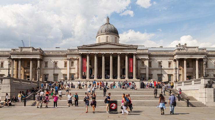 מקום 8. נשיונל גלרי, הגלריה הלאומית בלונדון
