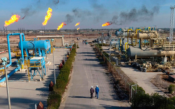 שדה נפט בדרום עיראק שבו פעילה אקסון מוביל