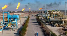 שדה נפט של אקסון מוביל בדרום עיראק, צילום: איי פי