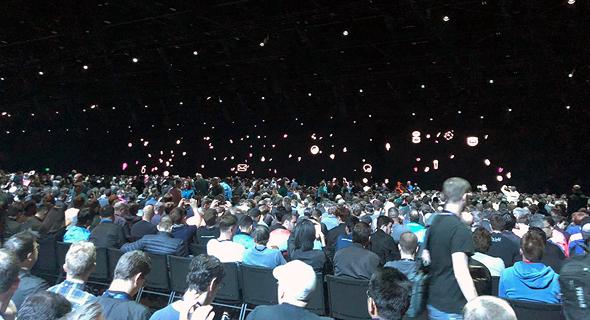 אירוע המפתחים השנתי של אפל, צילום: תומר הרשקוביץ