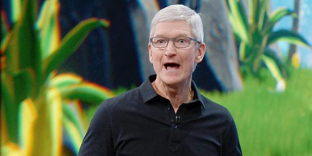 תחזית ורודה שלחה את שווי השוק של אפל אל מעל טריליון דולר