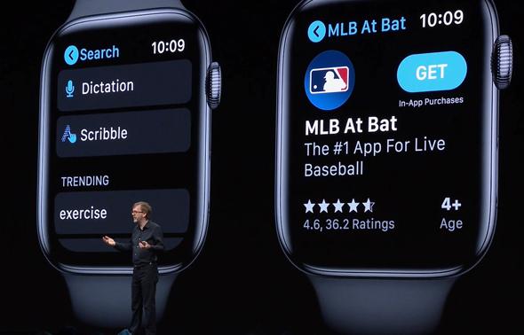 חנות אפליקציות בשעון? יש ויש, מתוך שידור חי של אפל