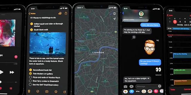שיפור ביצועים ומצב מוחשך: אפל חשפה את iOS 13 - ומערכת הפעלה חדשה לאייפד