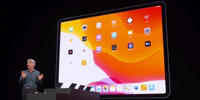 מערכת ההפעלה החדשה של האייפד, מתוך שידור חי של אפל