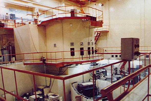 הכור העיראקי מבפנים, צילום: OSTI