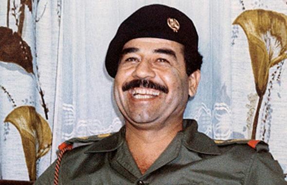סדאם חוסיין, שליט עיראק דאז
