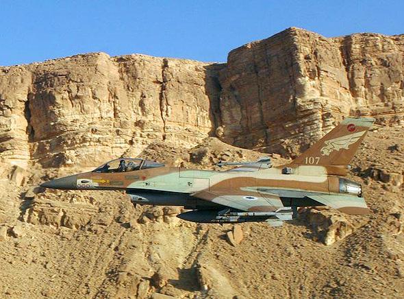מטוס F16 ישראלי, צילום: חיל האוויר (CC BY-SA 2.0)