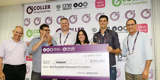 Plastic Alternative Startup Solutum Wins Tel Aviv University Startup Competition