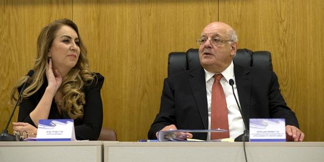 """השופט חנן מלצר יו""""ר ועדת הבחירות הקודמות, ואולי עדס מנכ""""לית הוועדה, צילום: עמית שאבי"""