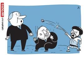 קריקטורה 5.6.19, איור: צח כהן