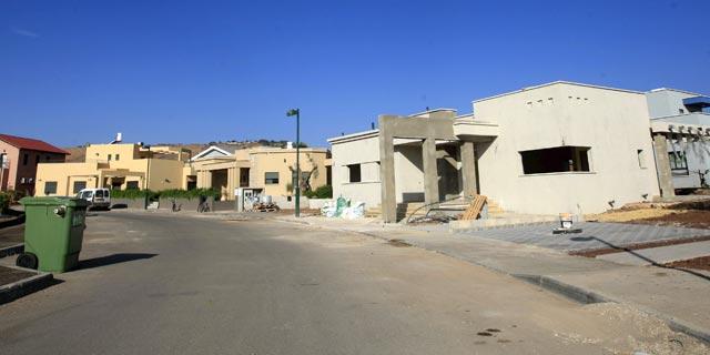 כ־100 אלף דירות במגזר הכפרי אושרו - ונתקעו