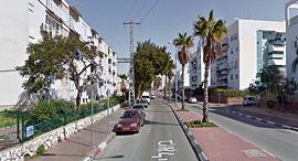 """רחוב ביאליק באשקלון זירת הנדל""""ן, צילום: Google Street View"""