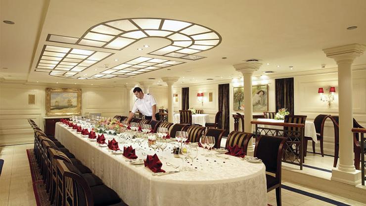 חדר האוכל, צילום: Valef Yachts