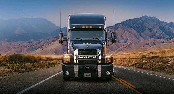 """משאית מאק מדגם אנת'ם. זכתה במכרז אך לא תגיע לצה""""ל"""