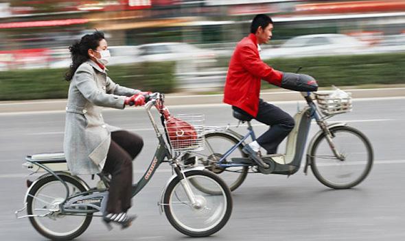 אופניים חשמליים בסין