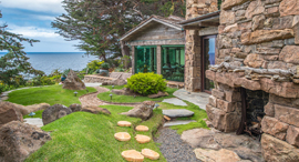 נחלה אחוזה למכירה Seven Coves  כרמל קליפורניה סרט אינסטינקט 6, צילום: Tim Allen Properties