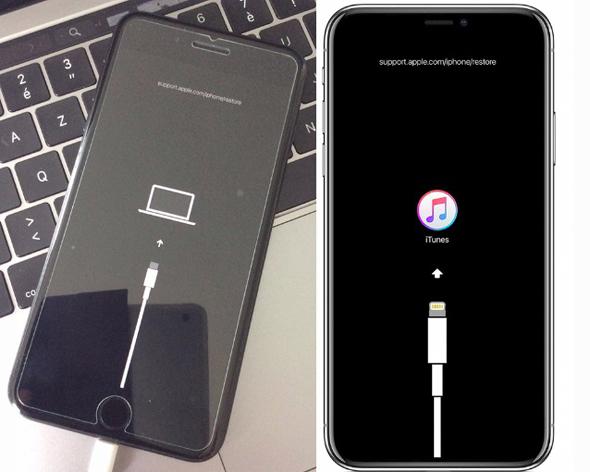 מימין: שקע הלייטנינג המסורתי, והתמונה החדשה, שמציגה שקע USB-C