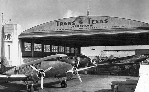 מטוס DC3 בחברת תעופה אמריקאית